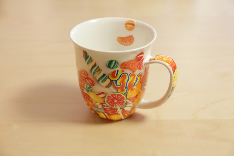MUG – DOUCEURS – 0.4L – CHINA FINE BONES PORCELAINE