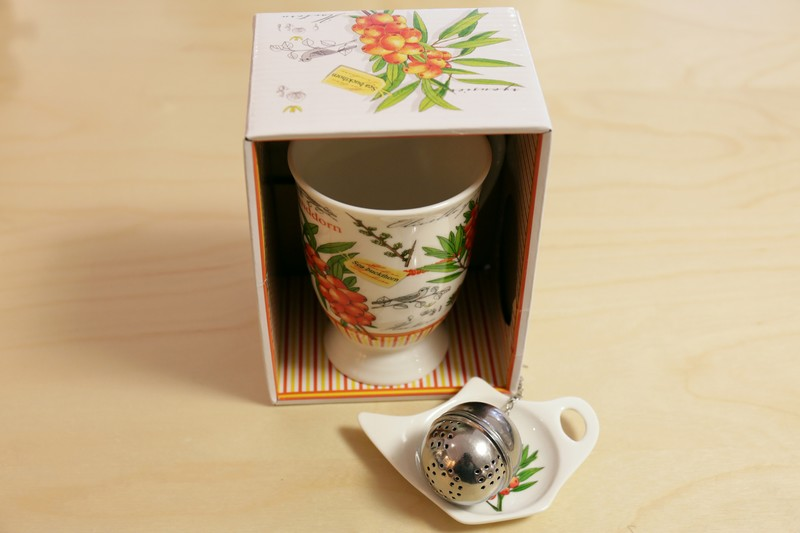 MUG – REPOSE SACHET – FILTRE – ORANGE