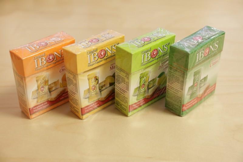 Bonbons au gingembre – Mangue – 60gr – 15 pièces